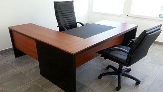 Muebles para oficinas escritorios mesas de directorio for Medidas de muebles para oficina