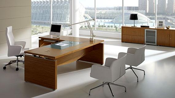 Muebles para oficinas escritorios gerenciales for Muebles modernos para oficinas pequenas